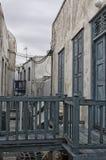 Типичная эгейская архитектура Стоковая Фотография