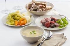 Типичное блюдо тушёного мяса от Португалии Стоковое фото RF