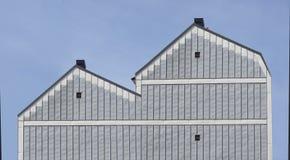 Типичное здание в Скандинавии Стоковая Фотография