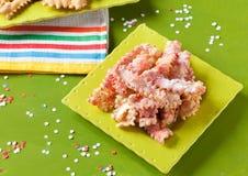 Типичное итальянское печенье масленицы Стоковое Фото