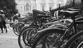 Типичное Кембридж B&W Стоковые Изображения RF