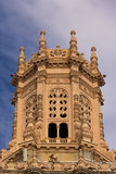 Типичное колониальное здание Стоковые Фото