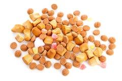 Типичные голландские помадки: pepernoten (гайки имбиря) Стоковое Фото