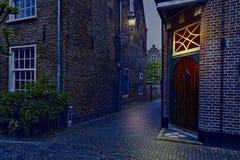 Типичные дома в Голландии Стоковое Изображение RF