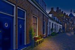Типичные дома в Голландии Стоковое Фото