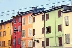 Типичные итальянские дома Стоковые Изображения