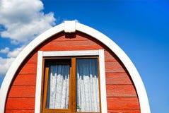 Типичные норвежские дома стоковое фото rf