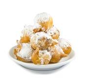 Типичные печенья масленицы от Италии Стоковые Фотографии RF