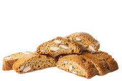 Типичные печенья Тосканы с миндалинами Стоковые Изображения RF