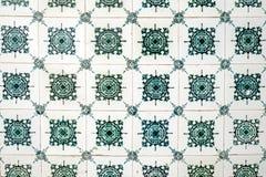 Типичные португальские плитки стоковые изображения rf
