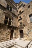 Типичные старые каменные дома в деревне Gordes, Воклюз, Провансаль, Стоковое Фото