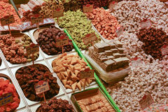 Типичные турецкие помадки Стоковые Фото