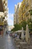 Типичные улицы Валенсии Стоковое Фото
