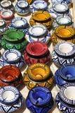 Типичные ashtrays Марокко Стоковые Изображения