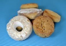 Типичные donuts и печенья вина рождества Стоковая Фотография RF