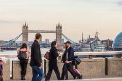 Типичный взгляд в Лондоне стоковая фотография
