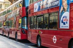 Типичный взгляд в Лондоне стоковое фото rf