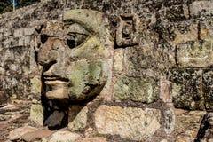 Типичный взгляд на руинах Copan в Гондурасе стоковое фото
