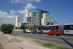 Типичный взгляд улицы в Гаване Стоковая Фотография RF