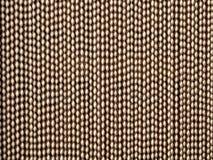 Типичный винтажный занавес используемый в деревнях Стоковые Изображения RF