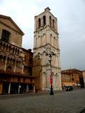 Типичный городской ландшафт в Ферраре, Италии Стоковая Фотография RF
