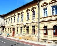 Типичный городской ландшафт в cluj-Napoca, Трансильвании Стоковые Фото