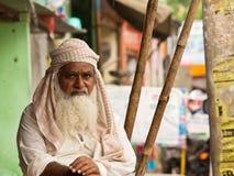 Типичный житель зоны Раджастхана Стоковые Изображения RF