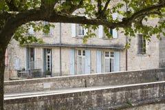 Типичный жилой дом в Франции, Европе Стоковое Фото