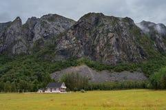 Типичный норвежский ландшафт Стоковое фото RF