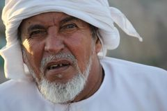 Типичный оманский человек Стоковые Изображения RF
