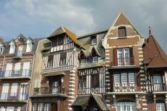 Типичный дом в Сомме, Франции Стоковое Фото