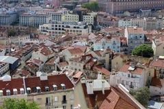Типичный дом Лиссабона, столица, Португалия стоковые изображения