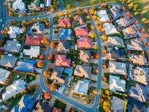 Типичный пригород в Австралии Стоковое Фото
