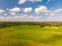 типичный сельский ландшафт центральной России стоковое фото rf