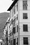 Типичный среднеземноморской фасад в утре Стоковое фото RF