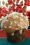 Типичный торт Кристмас от Милана (Италия) Стоковые Фото