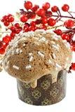 Типичный торт Кристмас от Милана (Италия) Стоковое Изображение