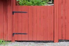 Типичный шведский цвет загородок Стоковое Изображение