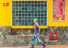 Типичный Medellin Колумбия стоковые изображения rf