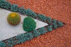 Типы благоустраивать и путей сада украшений Стоковые Изображения RF