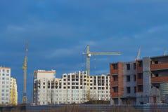 Типы конструкции зданий города Стоковые Изображения RF