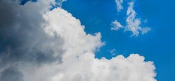 Типы облаков Стоковое Изображение