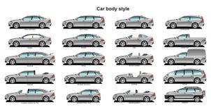тип автомобиля тела Стоковое Изображение RF