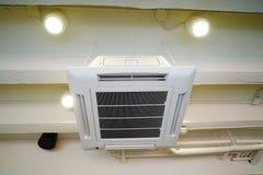 Тип блок потолка кондиционера воздуха смертной казни через повешение Стоковое фото RF