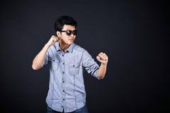 Тип воевать в студии Стоковая Фотография RF