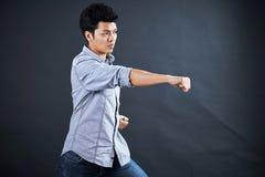 Тип воевать в студии Стоковые Фото