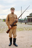 тип воина изображения пушки ретро Стоковые Фото