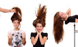 тип волос стоковое фото