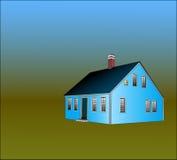 тип дома трески плащи-накидк Бесплатная Иллюстрация