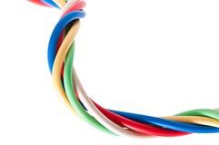 тип европейской державы кабеля 220v электрический Стоковое Изображение
